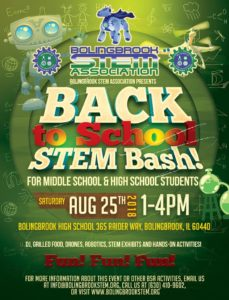 Back to School STEM Bash! @ Bolingbrook High School